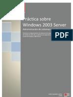 Práctica sobre Windows 2003 Server FINAL