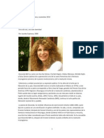 LECTURA RECOENDADAbiografia de Gioconda Belli