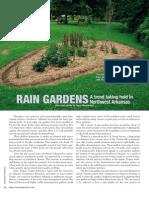 Arkansas; Rain Gardens Trend Taking Hold in Northwest Arkansas