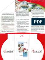 Artha 3fold Brochuer