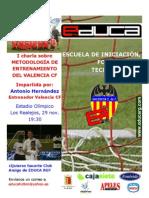 Charla Entrenador Valencia Cf