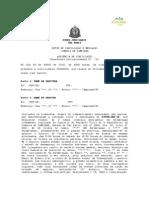 Modelo Termo de Acordo Pré-Processual - Divórcio