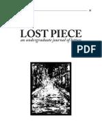 Lost Piece Volume III Issue II