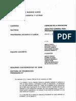 Didáctica General Para Profesorados Módulo II