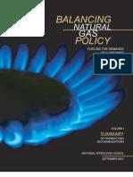 Balancing Natural Gas Policy Vol-1 Summary (NPC, 2003)