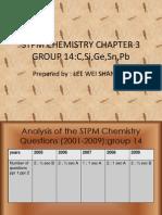 Stpm Chemistry Chapter 3