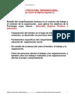 materia PSICOLOGÌA Organizacional. Myrtha-2