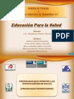 Tarea de Educacion Para La Salud