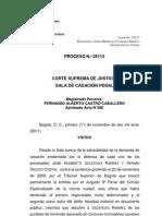Sentencia SC 35113 /Uscategui, Orózco vs Fiscalía
