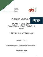 Plan de Marketing Tara en Polov