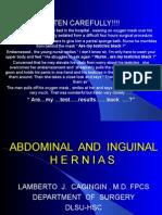 Abdominal and Inguinal Hernias 2006