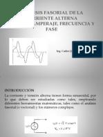Analisis Fasorial de CA