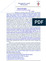 Simplified Budget Preparation for All Nations