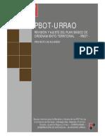 """Proyecto de acuerdo 128 de 2011, """"revisión"""" del Pbot de Urrao"""