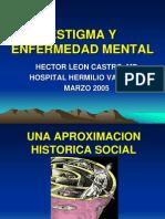 Estigma y Enfermedad Mental -Dr. Leon