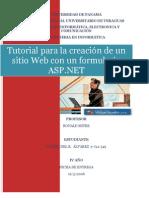 Tutorial Para La Creación de Un Formula Rio ASP(Fátima Álvarez)