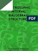 Neutrosophic Interval Bialgebraic Structures, by W. B. Vasantha Kandasamy, Florentin Smarandache