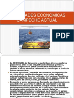 Actividades Economic As Campeche Actual
