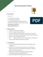 My Brief Curriculum Vitae[1]