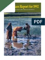 Program Report for 1992