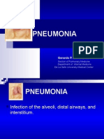 Med - Ppt Pneumonia for Lecture
