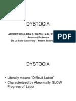 Ob - Dystocia 2