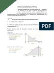 Formulas de Integrales Propias