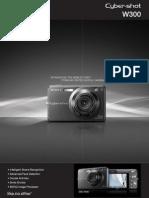 Cybershotw300 Brochure