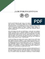 Carta de Pvblivs Lentvlvs