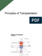 Med - Principles of Transplantation