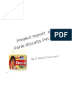 Project Report on Parle Biscuits Pvt