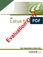 Lotus Note 8