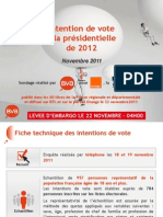 Intention de Vote Bva-Orange