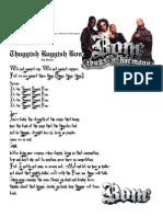 Rapolistic Rhyme