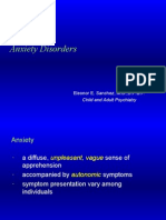 PSYCH - AnxietyDO Sel Mutism SAD