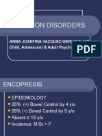 Psych - Elimination Disorders