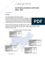 Peripheral Artery Disease procedures and trends in Asia Pacific 2010 - 2011