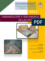 Urbanizacion y Crecimiento de Las Ciudades