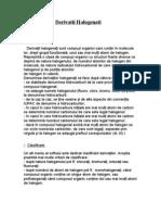Derivatii Halogenati