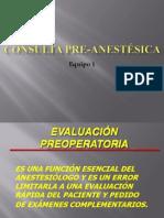 Consulta Preanestesica Fin