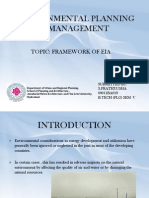 Environmental Planning & Management