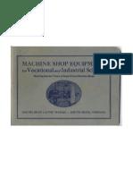 Machine Shop Equipment - 2nd Ed