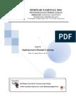 Implementasi Blended Learning Dalam Pembelajaran