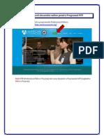 Instructiuni pentru completarea dosarului online Programul Professional Fellows