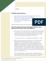 Camp David, Camp David Accords - The Peace FAQ
