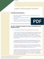 Demographics, The Demographic Time-Bomb