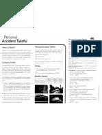 Personal Accident Takaful (Islamic Insurance) Pak-Qatar