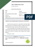 Test Formatting Teks