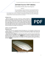 Planing Hull Model Tests for CFD Validation