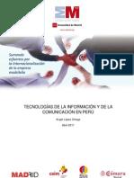 El sector de las TICs en Peru